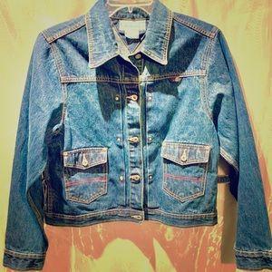 LA Blues Women's Blue Jean Jacket